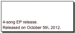 4-song EP release.